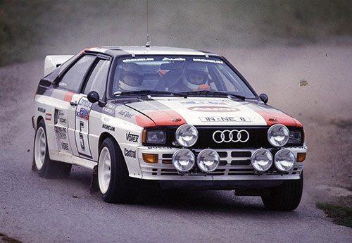 Audi Quattro World Rally Championship driver, Michele Mouton