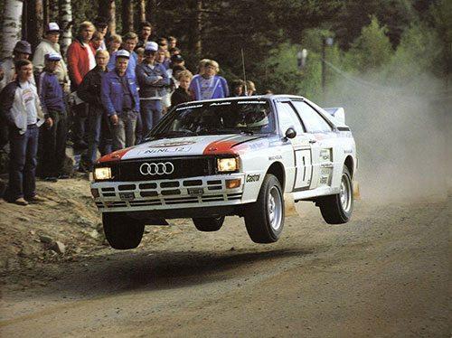 Michele Mouton, Audi Quattro