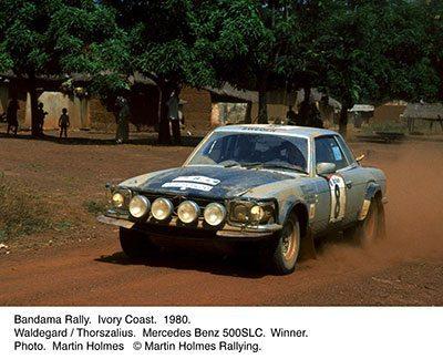 mercedes slc 500 rally