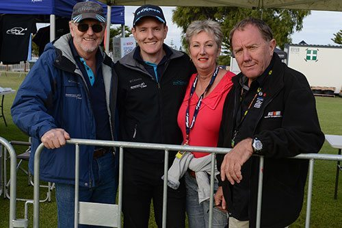 Rob-and-Dean-Herridge-from-Maximum-Motorsport-with-Lisa-and-Ross-Dunkerton