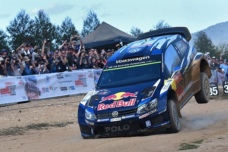 Sebastien Ogier Rally Australia 2015 | RallySport Magazine | Australia's Best Rally Magazine