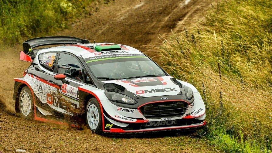 Elfyn Evans Rally Poland