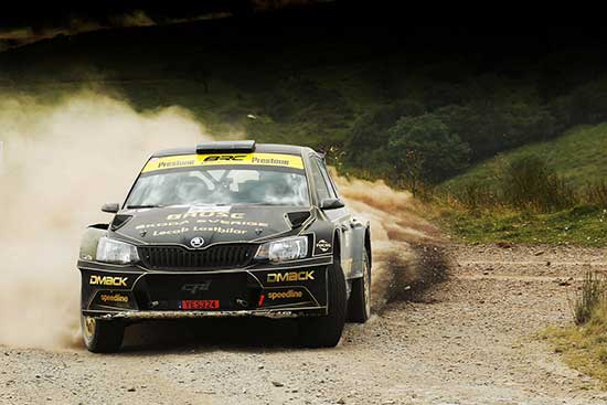 Grist Stages 2017 winner Fredrik Ahlin Skoda | RallySport Magazine | Australia's Best Rally Magazine