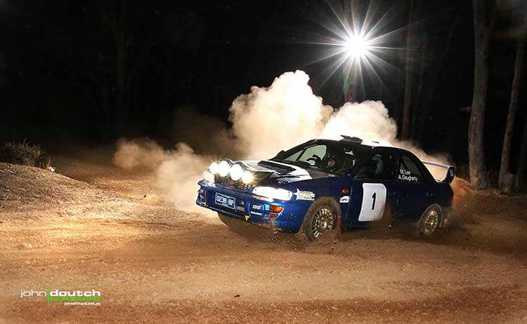 Lee Nightmoves Doutch | RallySport Magazine | Australia's Best Rally Magazine