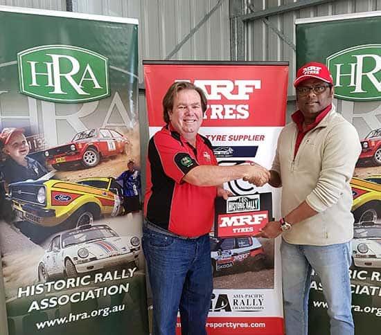 MRF and Alpine Signing | RallySport Magazine | Australia's Best Rally Magazine