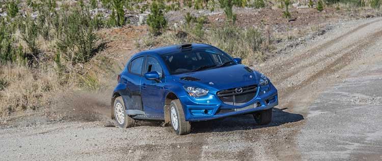 Reeves Mazda2 test | RallySport Magazine | Australia's Best Rally Magazine