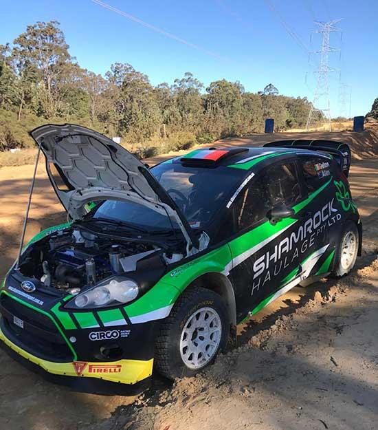 Richie Dalton testing |RallySport Magazine | Australia's Best Rally Magazine