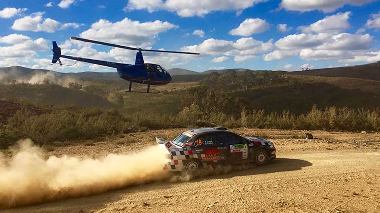 Nathan Quinn Nat Cap | RallySport Magazine | Australia's Best Rally Magazine