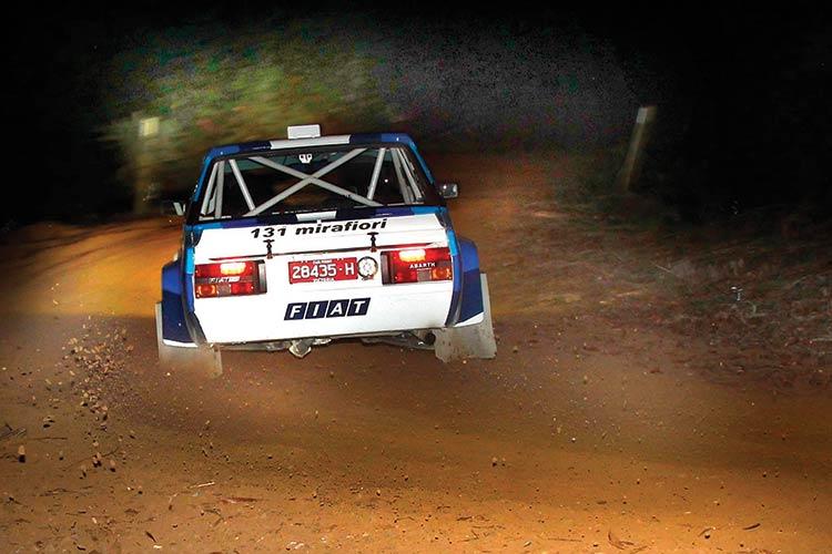 Fiat 131 Abarth replica