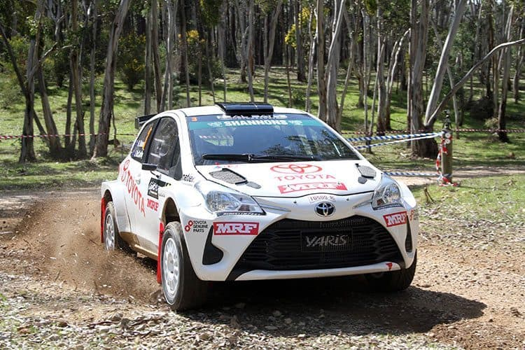 Harry Bates Toyota Yaris AP4
