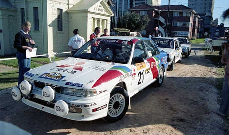 Iconic works Galant VR4 finds a new home - RallySport Magazine