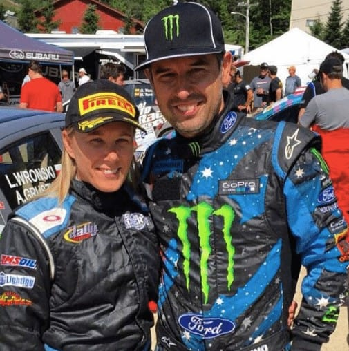 Rhianon and Alex Gelsomino. RallySport Magazine | Australia's Best Rally Magazine