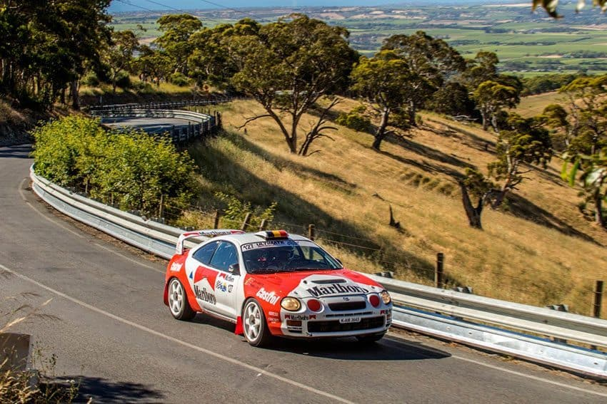 Stuart Bowes will drive his ex-Freddy Loix Celica GT-Four in the Adelaide Rally.