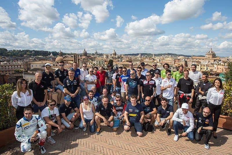 2017 ERC competitors at Roma Capitale Rally. RallySport Magazine | Australia's Best Rally Magazine