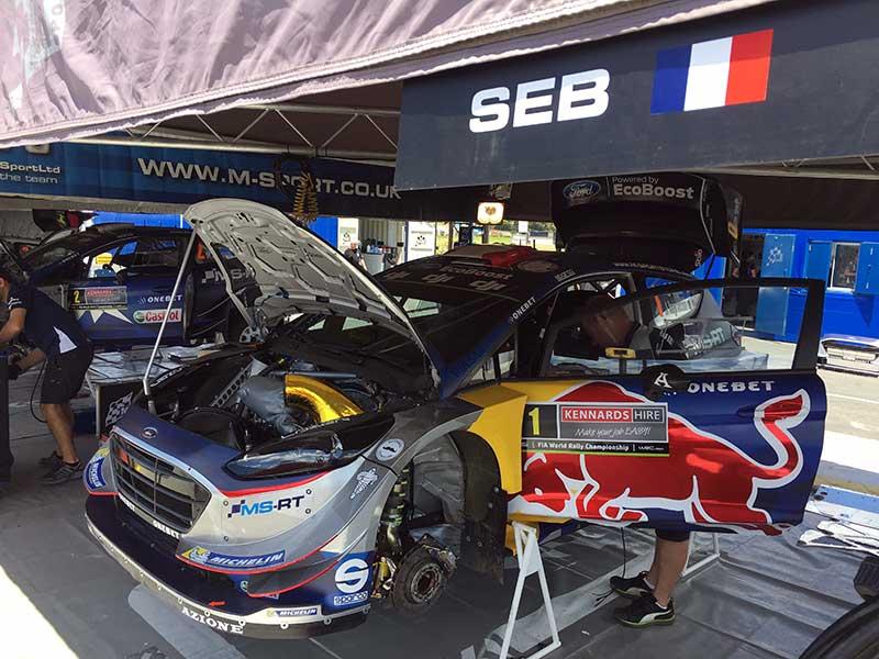 Sebastien Ogier, Rally Australia 2017