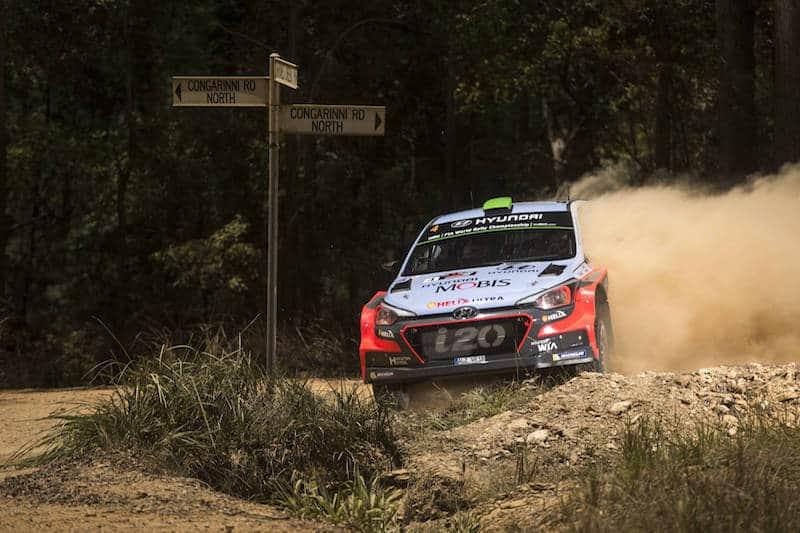 Hayden Paddon, 2016 Rally Australia