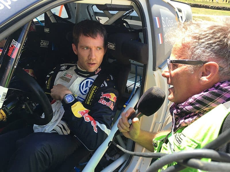 Colin Clark and Sebastien Ogier. RallySport Magazine | Australia's Best Rally Magazine