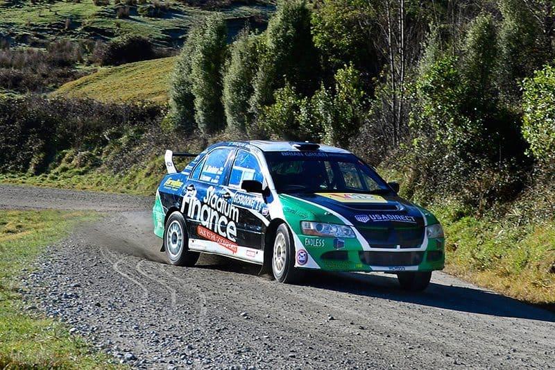 David Holder, 2016 NZ Rally Champion