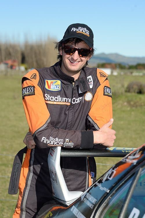 NZ rally driver David Holder