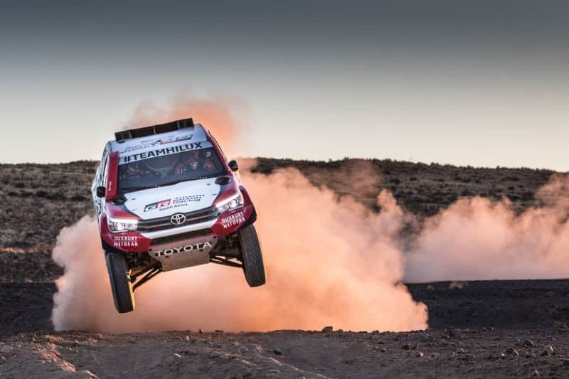 Hilux Pickups Ready For Dakar 2018 In South America