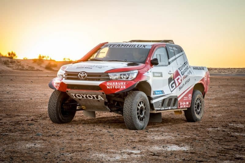 Toyota HiLux 2018 Dakar Rally