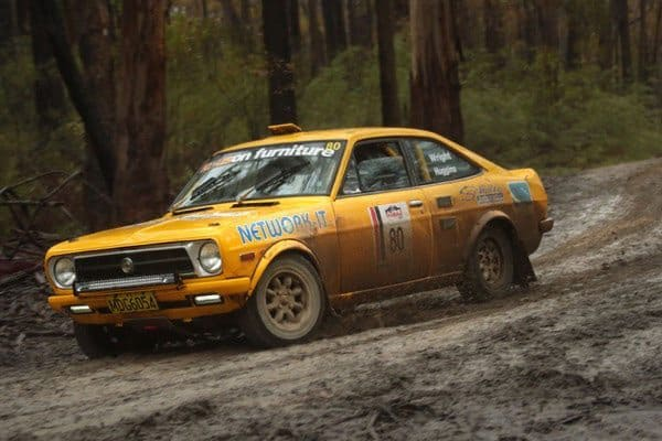 Julian Wright Datsun 1200, Alpine Rally