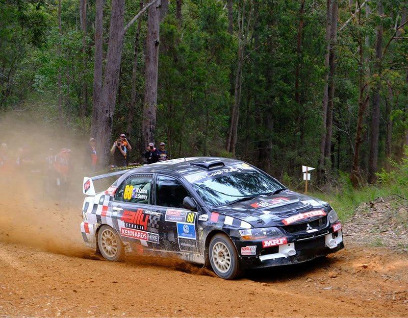 Nathan Quinn Rally Australia 2017