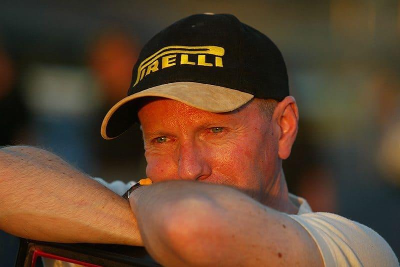 Australian rally driver Ed Ordynski
