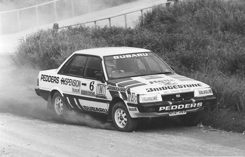 Ed Ordynski Subaru RX Turbo