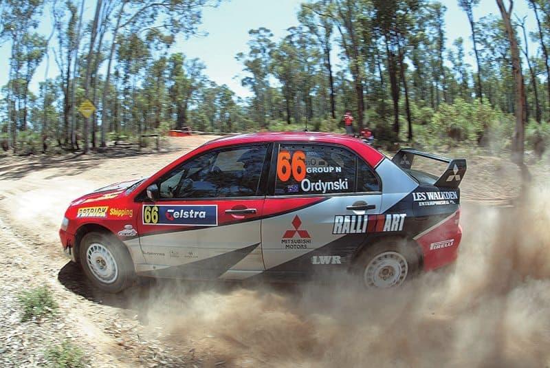 Ed Ordynski Rally Australia 2004