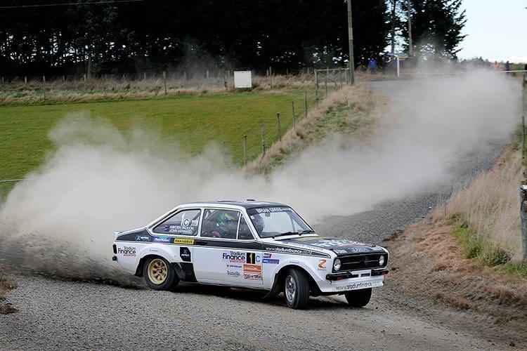 Hayden Paddon, Ford Escort RS1800, 2015 Otago Rally. RallySport Magazine | Australia's Best Rally Magazine