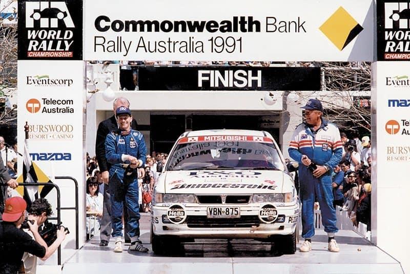 Ed Ordynski Rally Australia 1991