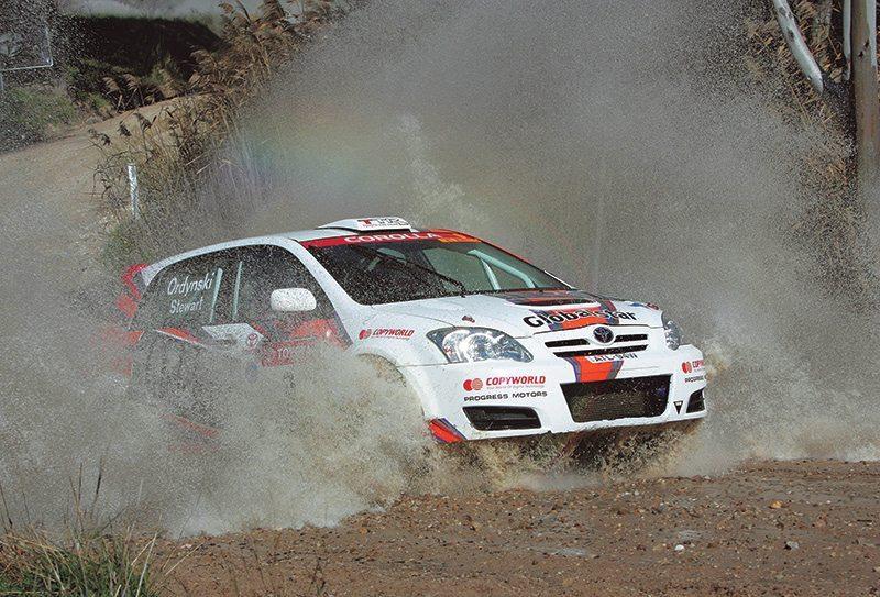 Ed Ordynski Toyota Corolla Rally SA