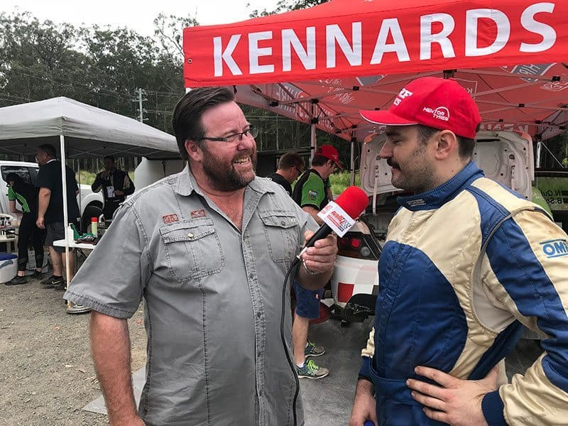Shane Jacobson and Nathan Quinn. RallySport Magazine   Australia's Best Rally Magazine