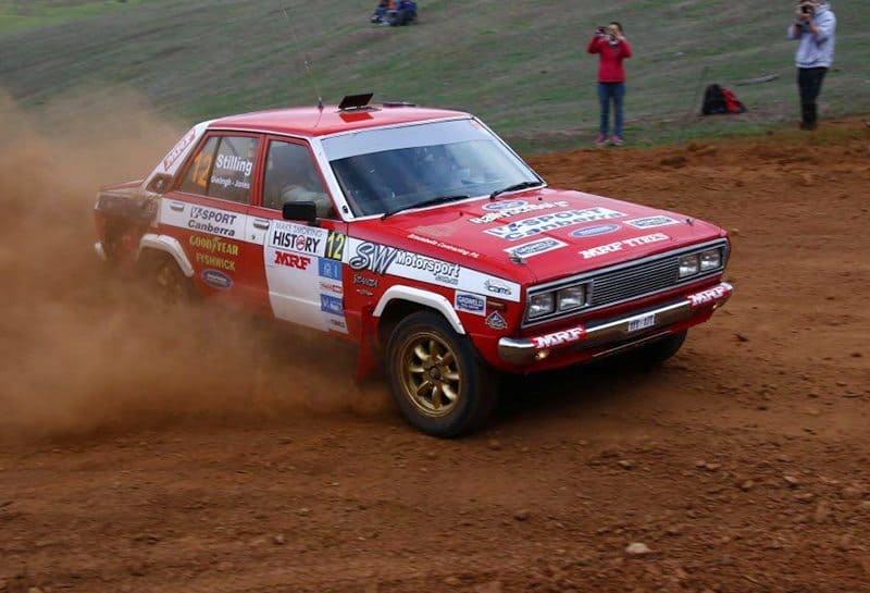 Stilling And His Stanza Take Out 2017 Classic Rally Challenge