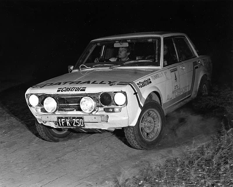 Geoff Portman Datsun 1600
