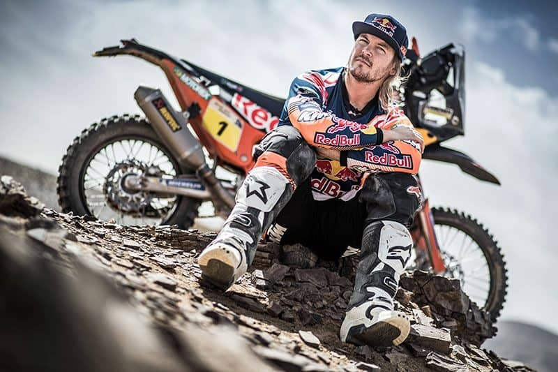 Toby Price, Dakar Rally