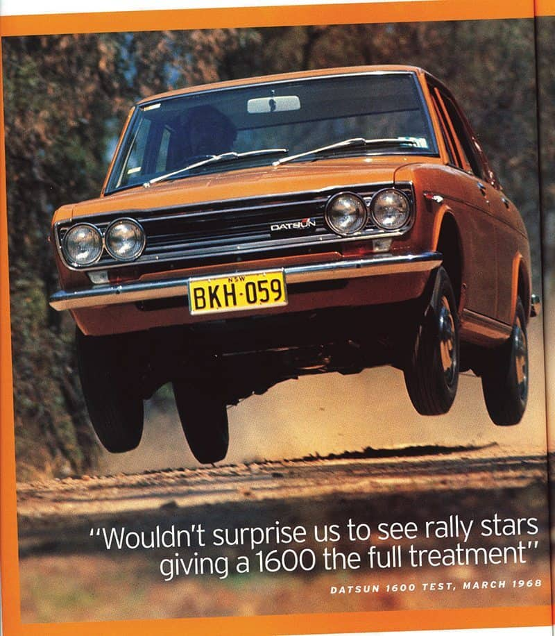 Datsun 1600 road test