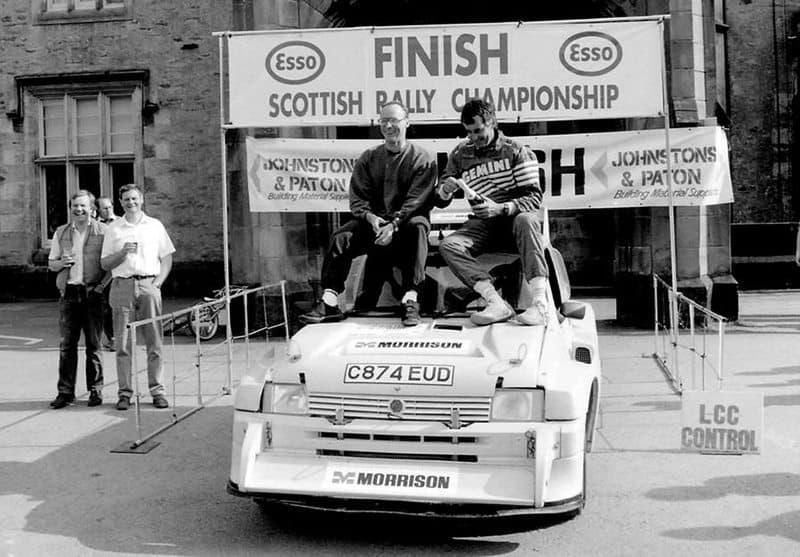 Scottish Rally Champion Donald Milne