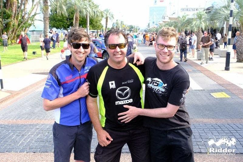 Ben Hunt, Andrew Hawkeswood, Matt Summerfield