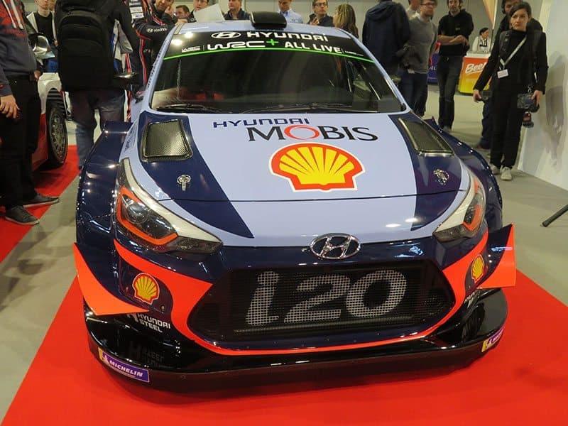 2018 Hyundai i20 WRC