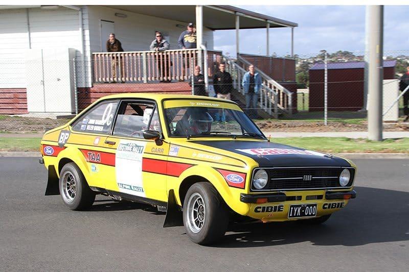 Ford Escort club rally car