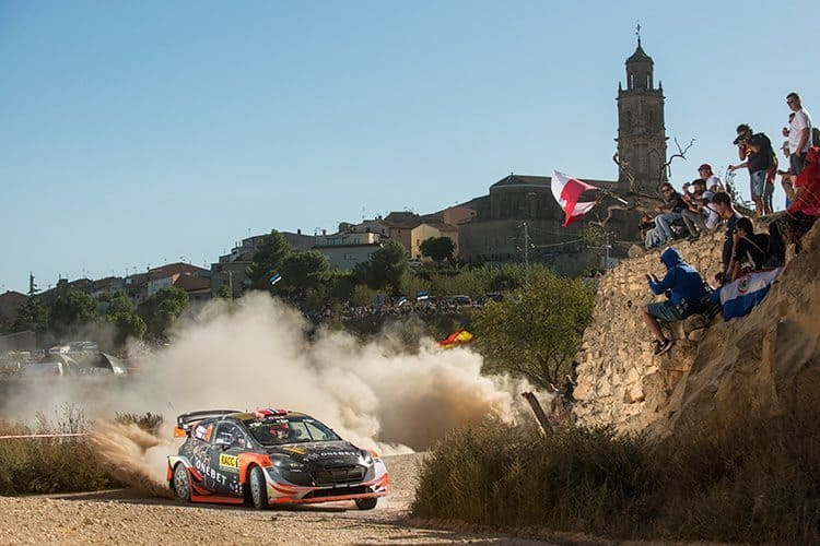 Mads Ostberg in action in last year's World Rally Championship. Photos: Red Bull Content Pool