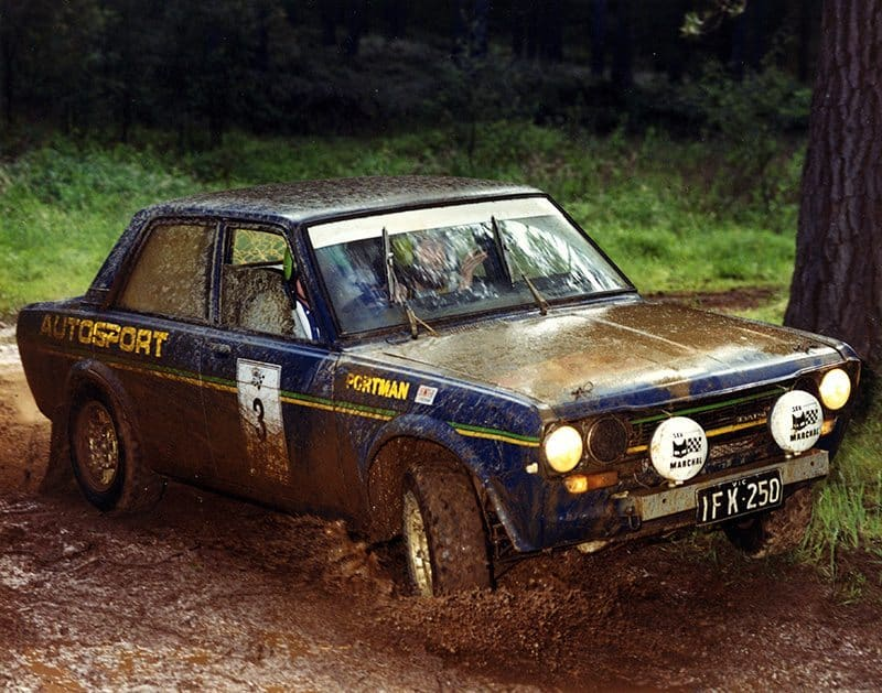 Geoff Portman's Grunter Datsun 1600