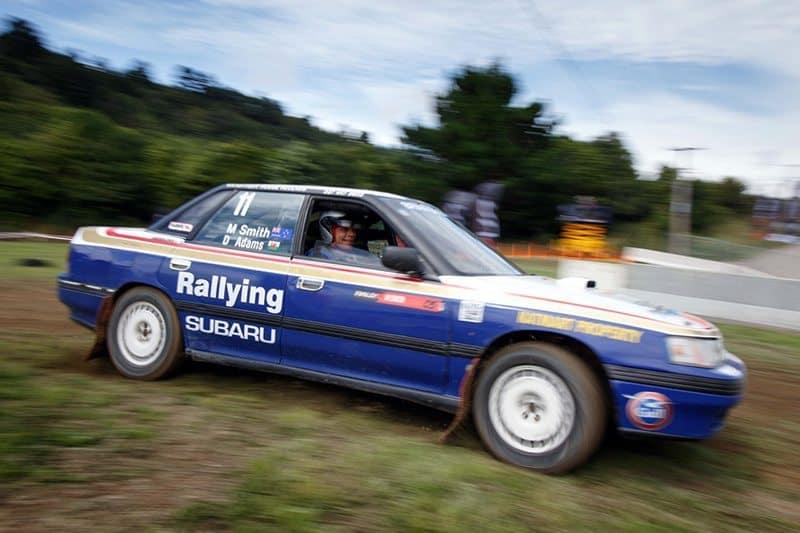 Subaru Legacy RS Turbo rallysprint