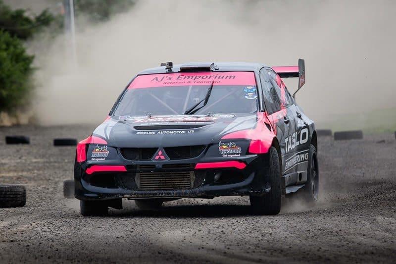 Sloan Cox rallycross winner