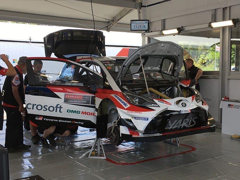 Toyota Gazoo Racing WRC service