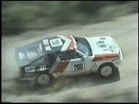 Group B Mitsubishi Starion 4WD