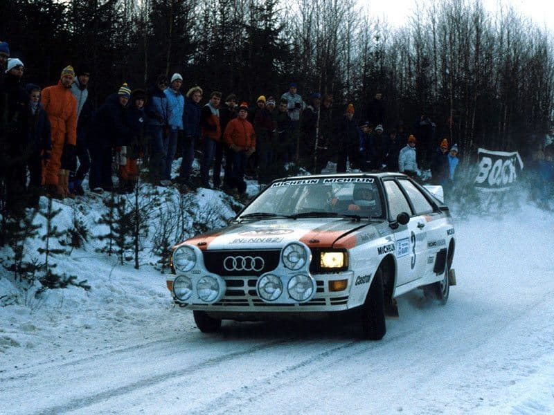 Mikkola 1983 Swedish Rally