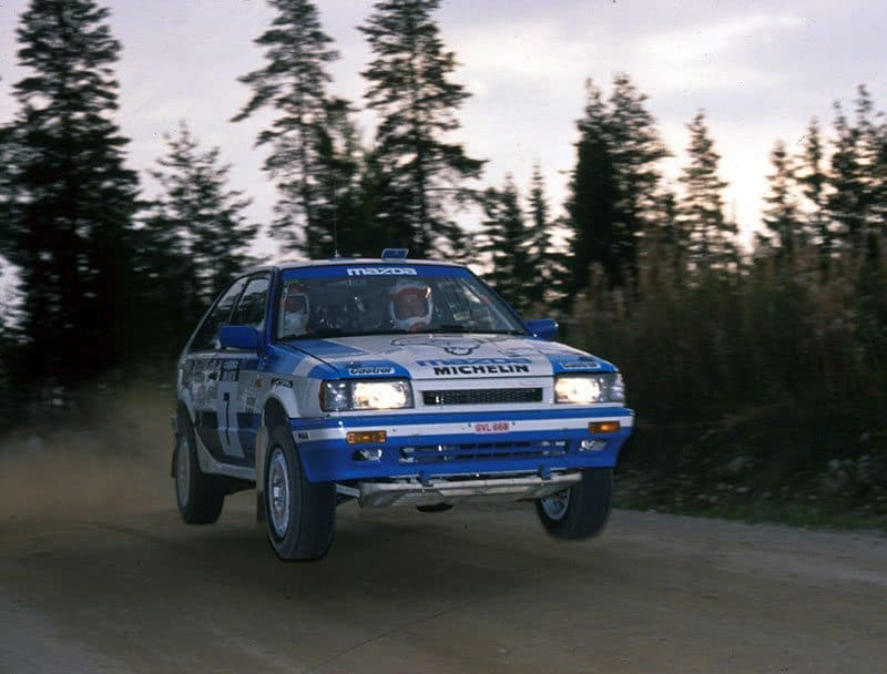 Mikkola 1988 1000 Lakes Rally
